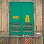 SUB STATION DOOR