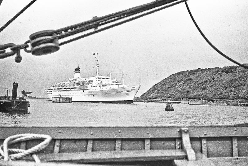 GUGLIELMO MARCONI's MAIDEN VOYAGE to DURBAN 26.6.1967